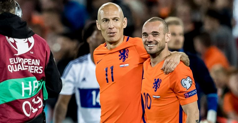 Robben droomt van EK met Oranje: 'Sensatie, hij is een voorbeeld voor velen'