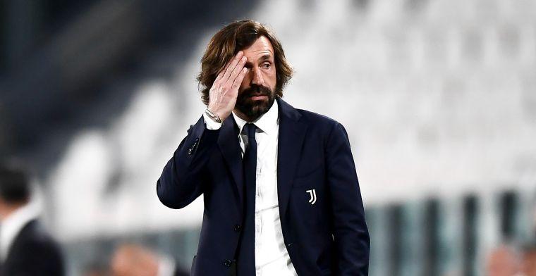 Pirlo steeds heviger gelinkt aan ontslag, Juventus-coach wil nog niet opgeven