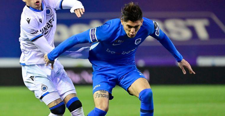 Verheyen over Arteaga (KRC Genk): 'Dat doe je enkel als je kan voetballen'