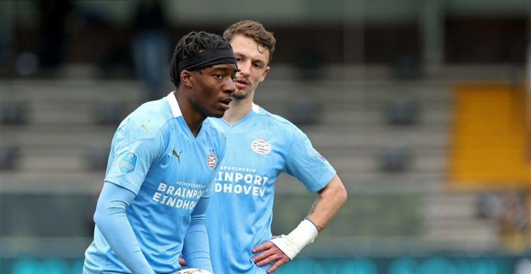 'Madueke koos ooit heel bewust voor PSV en wil echt weg als hij niet gaat spelen'