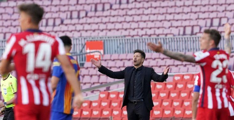 Atlético wijst Barcelona terug: hoe Simeone de Catalanen aftroefde in Camp Nou