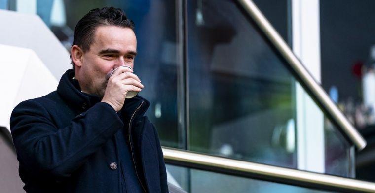 Overmars aan de koffie: Ajax-directeur is gespot in Denemarken