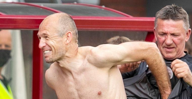De middag van Robben: 'Hij gebaarde steeds: invallers moesten 10 minuten wachten'