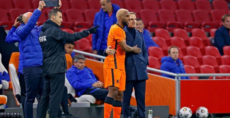 De Boer blijft fan: 'Die kan ploeggenoten af en toe een pets om de oren verkopen'