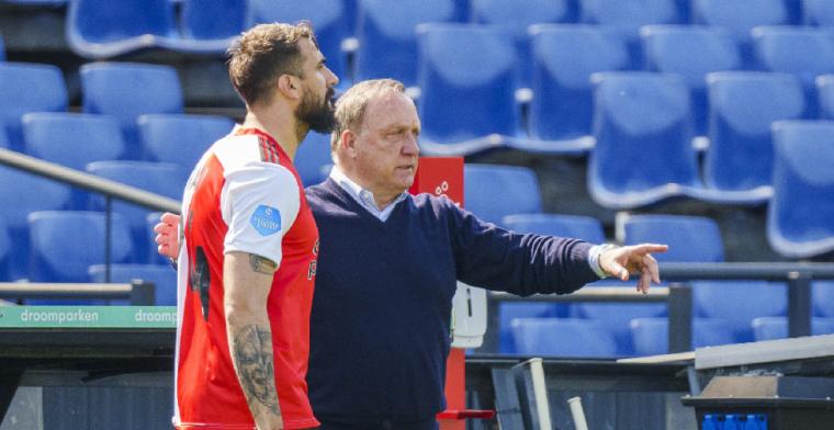 'Zware blessure van Pratto levert Feyenoord financiële tegenvaller op'