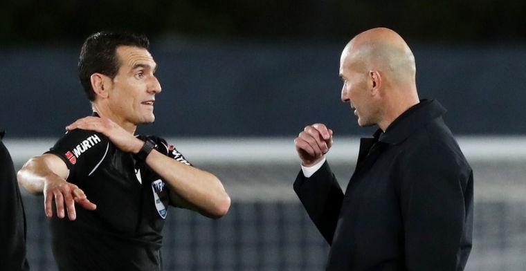 Zidane furieus op arbitrage: 'Spreek hier nooit over, maar nu ben ik boos'