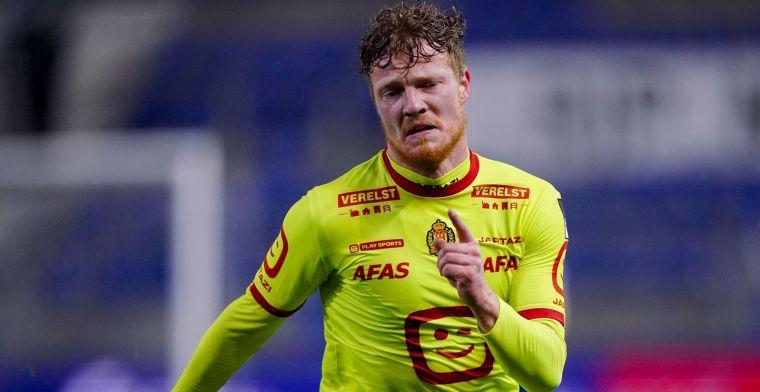 Zoals hij nu staat te spelen, is hij ideale spits voor KV Mechelen