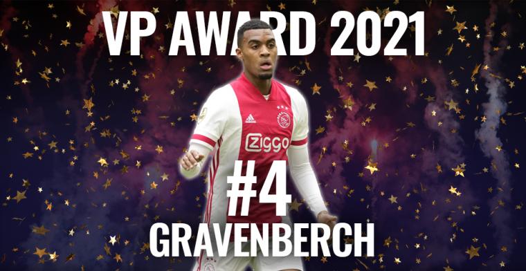 VP Award 2021: nog één verbeterpunt, Gravenberch is Eredivisie al bijna ontgroeid