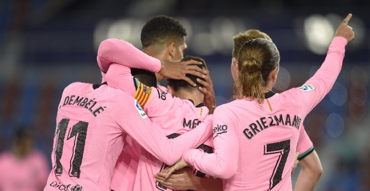 FC Barcelona krijgt nieuwe mokerslag en ziet titelkansen verdampen