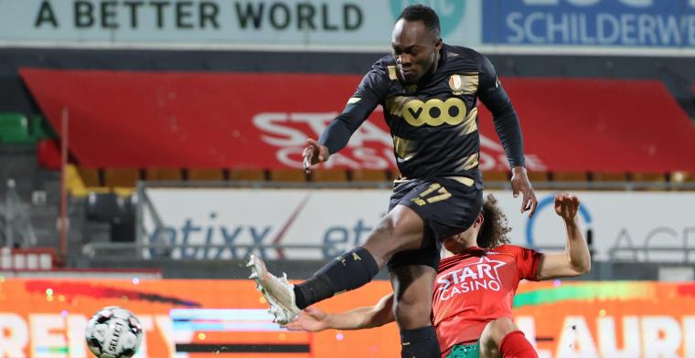 'Carcela blijft geschorst, maar Standard recupereert wel drie andere spelers'