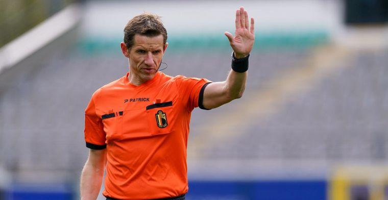 Opvallend: ref Boterberg verslaat alle spelers bij Standard - KAA Gent