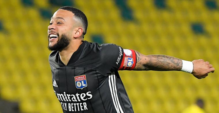 Memphis gaat op voor Ligue 1-prijs en heeft concurrentie van Neymar en Mbappé
