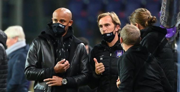 Kompany (Anderlecht) reageert voor het eerst op vertrek De Roeck