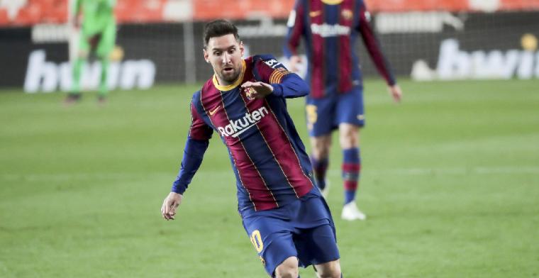 'Messi wil nu niet nadenken over toekomst en schuift aanbieding voor zich uit'