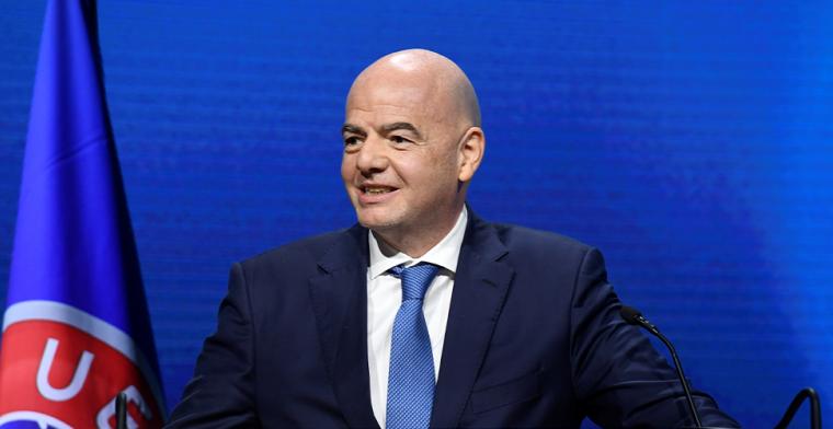 FIFA-president wordt beschuldigd in Spanje: 'Hij zit achter de Super League'