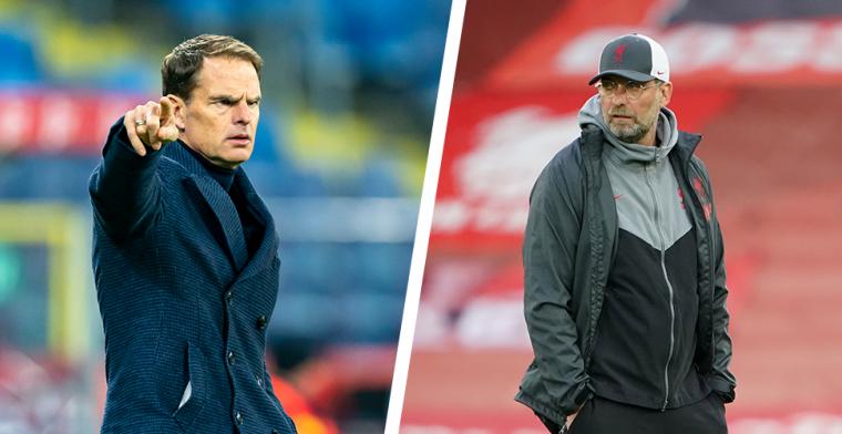 The Telegraph: Klopp (Liverpool) en De Boer (Oranje) op ramkoers over Van Dijk