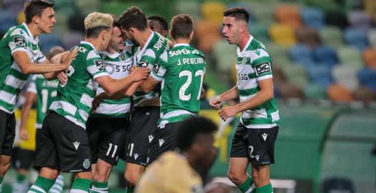 Feest in Lissabon: Sporting Portugal voor het eerst sinds 2002 kampioen