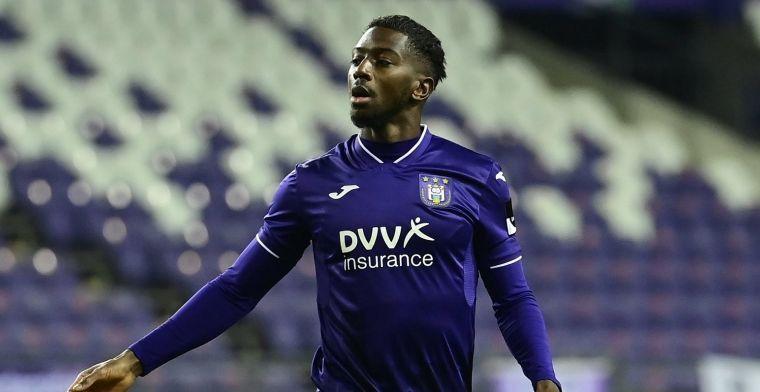 Opnieuw geen Diaby bij Anderlecht, aanvaller blijft op de dool