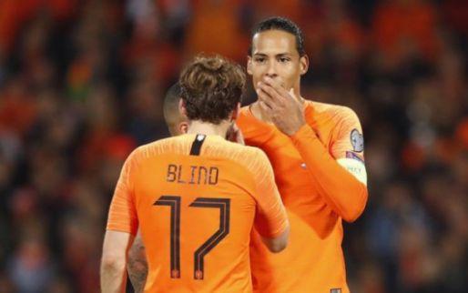 Afbeelding: Klopp ziet positieve kant voor Oranje aan Van Dijk-absentie: 'Dan is hij weer fit'
