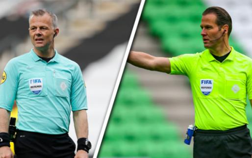 Afbeelding: Makkelie en Kuipers kunnen fluiten naar finale na bekendmaking van UEFA