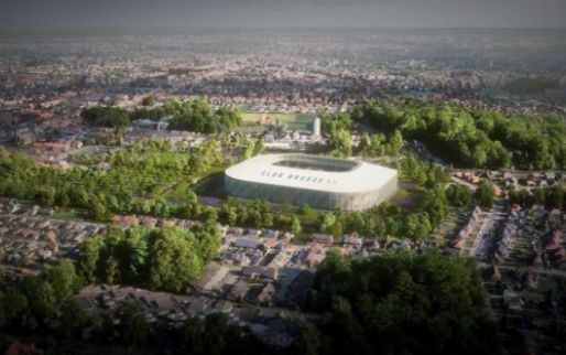 Weer klap in stadionplannen Club Brugge: