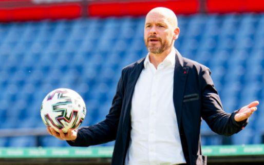 Ten Hag bevestigt Ajax-interesse; 'Klip en klaar dat hij een goede speler is'