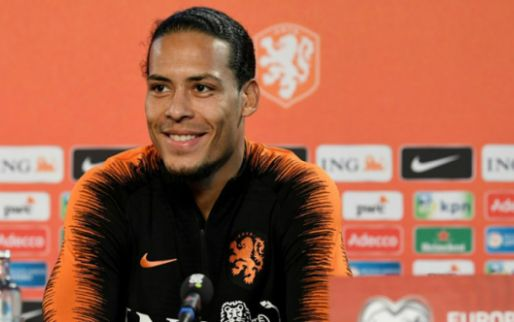 De Boer kan één naam wegstrepen: herstellende Van Dijk slaat EK over