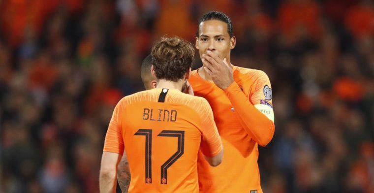 Klopp ziet positieve kant voor Oranje aan Van Dijk-absentie: 'Dan is hij weer fit'