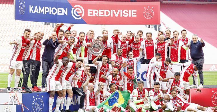 Kampioenssterren Ajax te koop aangeboden: fans bieden duizenden euro's