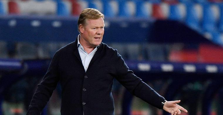 'Barça-preses roept Koeman op het matje na tegenvallende resultaten'