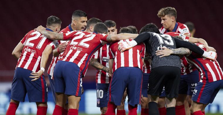 Carrasco scoort, Atlético zet gigantische stap richting titel