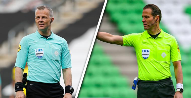 Makkelie en Kuipers kunnen fluiten naar finale na bekendmaking van UEFA