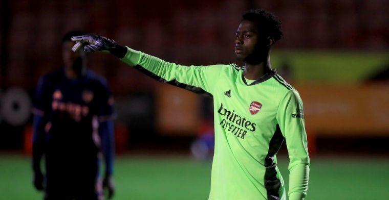 'Belgische club meldt zich bij Arsenal voor talentvolle doelman Okonkwo'
