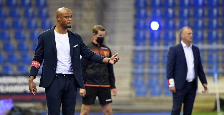 Kompany blijft ijzig kalm na gelijkspel Anderlecht: Een correct resultaat