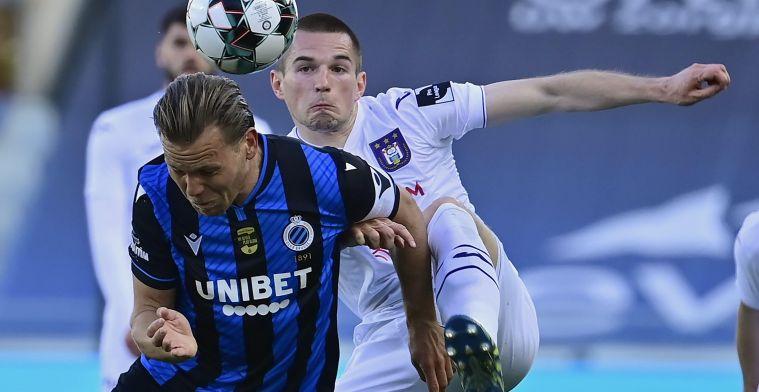 """Mykhaylichenko dacht aan vertrek bij Anderlecht: """"Daar had ik het lastig mee"""
