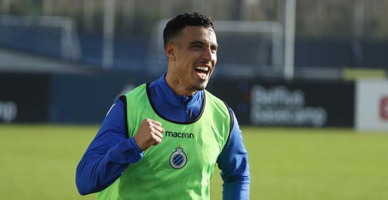 Doek is gevallen: Dirar (35) komt niet meer in actie voor Club Brugge