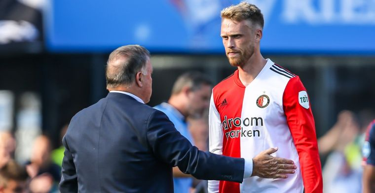 Advocaat maakt uitzondering bij Feyenoord: 'Nu moet hij het maar laten zien'