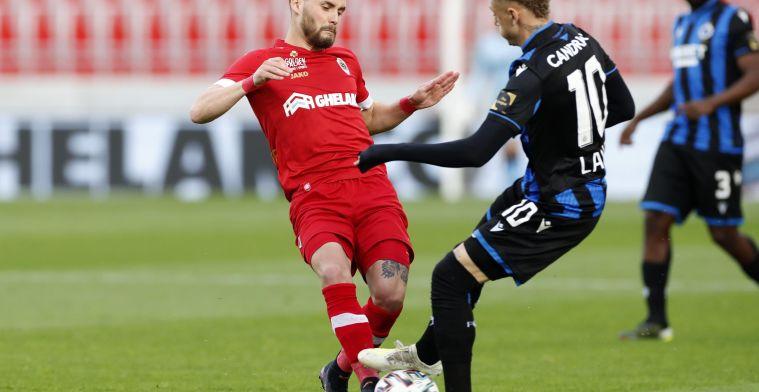 Onbegrip op sociale media over Lang (Club Brugge): 'Verhaeghe grijpt in'