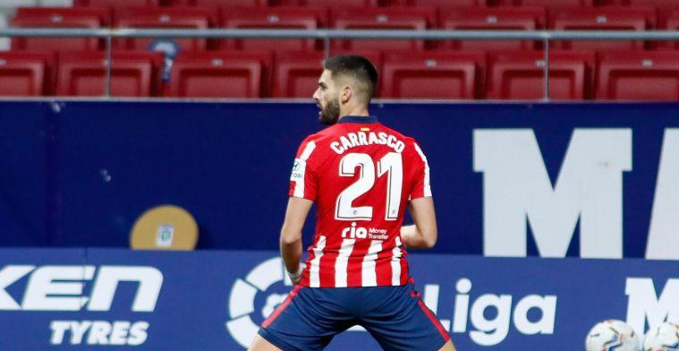 Wanneer Carrasco scoort bij Atlético Madrid is het zeker van puntengewin
