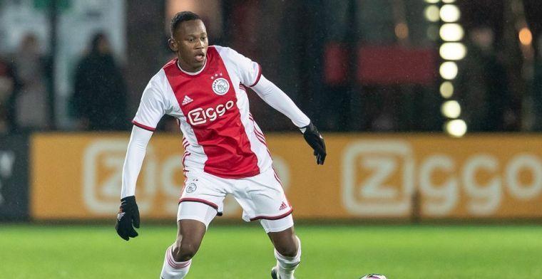 Zeefuik zocht contact met Ajax-talent: 'Zei dat ik m'n best moet blijven doen'