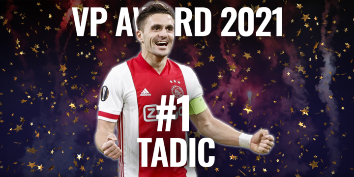VP Award 2021: 'Pak schoen!', Ajax-boegbeeld Tadic sleept volgende prijs binnen