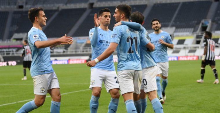 Man City wint van Newcastle na spektakelstuk met zeven goals, hoofdrol Torres