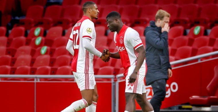 'Het is toch gek van Ajax? Waarom geef je zo'n jongen niet wat meer tekengeld?'