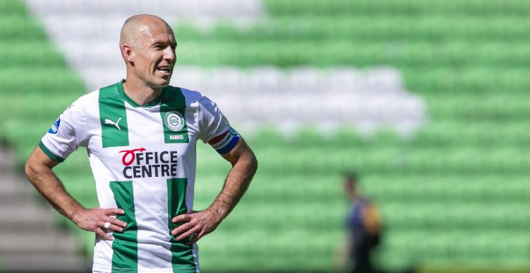 Robben niet van partij in laatste competitieduel van seizoen bij Groningen