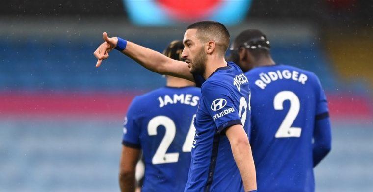 Tuchel geeft Ziyech vertrouwen bij Chelsea: spelmaker basisspeler in finale