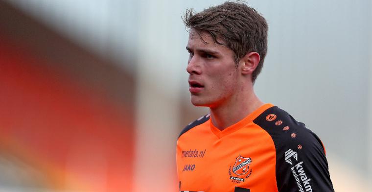Van de Ven lijkt te vertrekken bij FC Volendam: 'Maak waarschijnlijk een transfer'