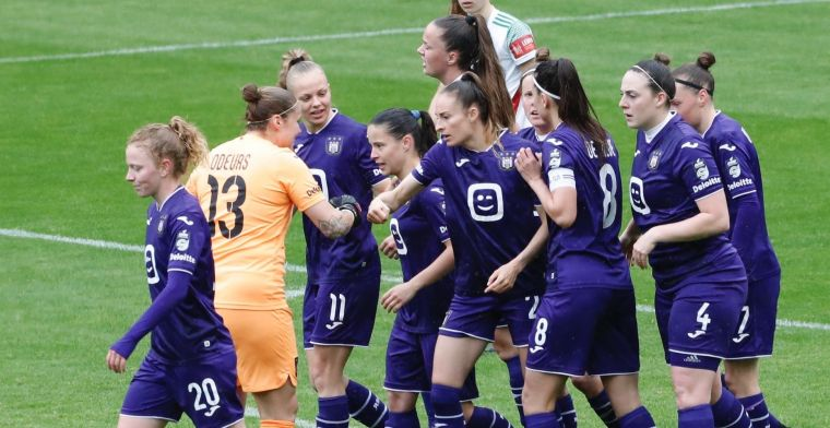 RSC Anderlecht-vrouwen pakken de landstitel na zege tegen OH Leuven