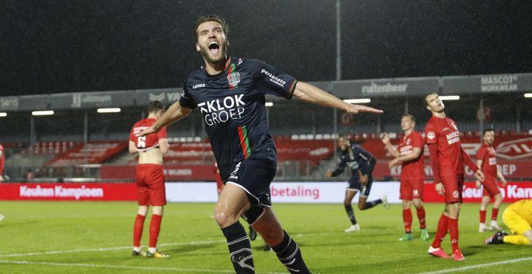 Almere City gaat keihard kopje onder: NEC naar halve finale play-offs