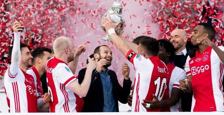 Blind op goede weg voor EK: Ajax-verdediger verschijnt op trainingsveld