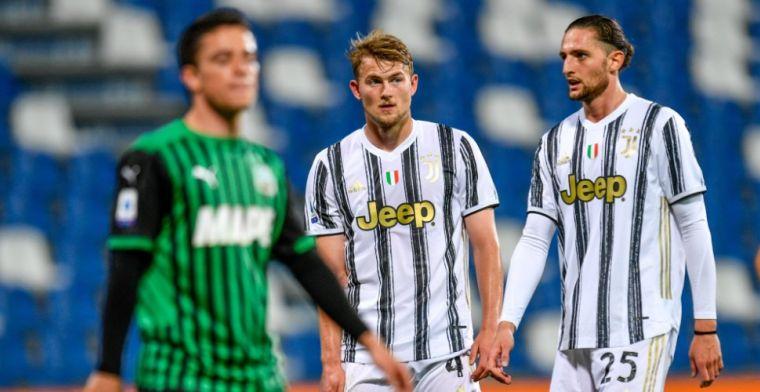 De Ligt: 'Wordt gewaardeerd door de Italianen, vind het verplichting naar de club'